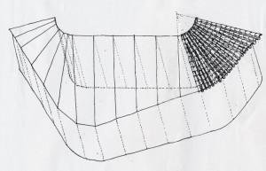 schema per la disposizione delle tegole