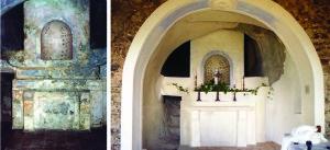 altare restaurato