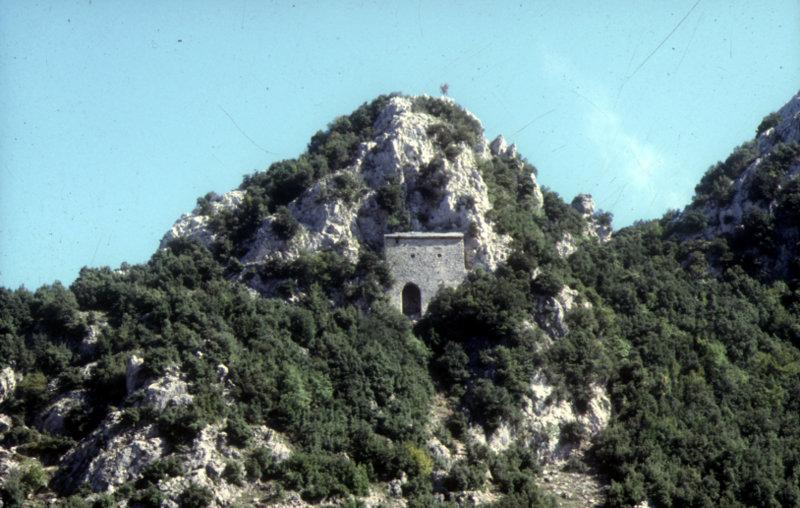 Restauro di santuari rupestri